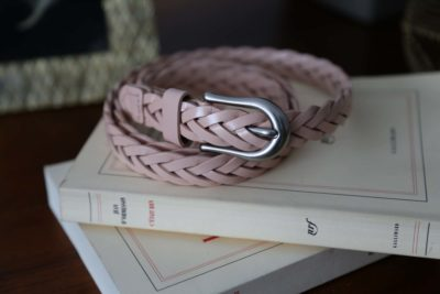 ceinture-cuir-rose-tressé-melyna
