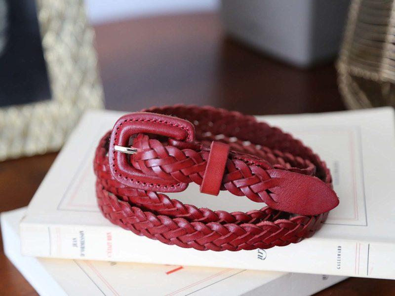 ceinture-cuir-rouge-tresse-iris