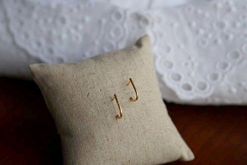 boucle oreille plaqué or SANDRA