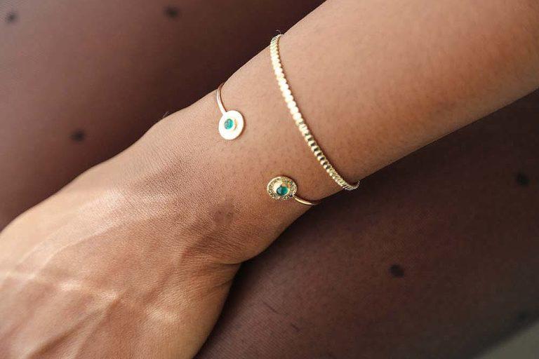 bracelet-jonc-doré-plaqué-or