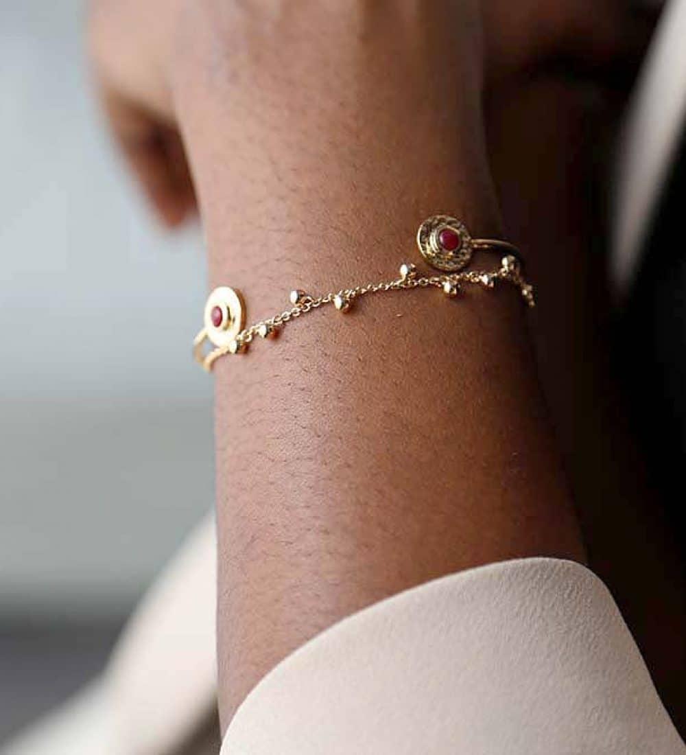 bracelet-jonc-plaque-or
