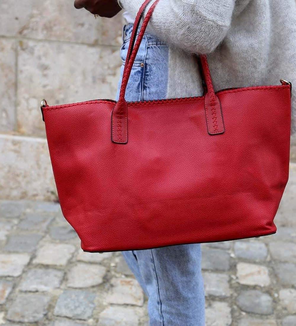 cabas-femme-rouge-simili-cuir-izia1