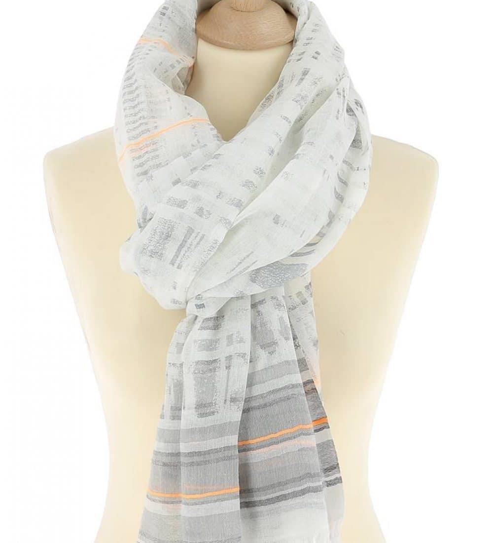 foulard-femme-coton-gris-maty2 (1)