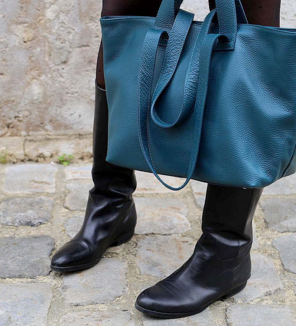 sac-cabas-cuir-bleu-canard-double-anse-9