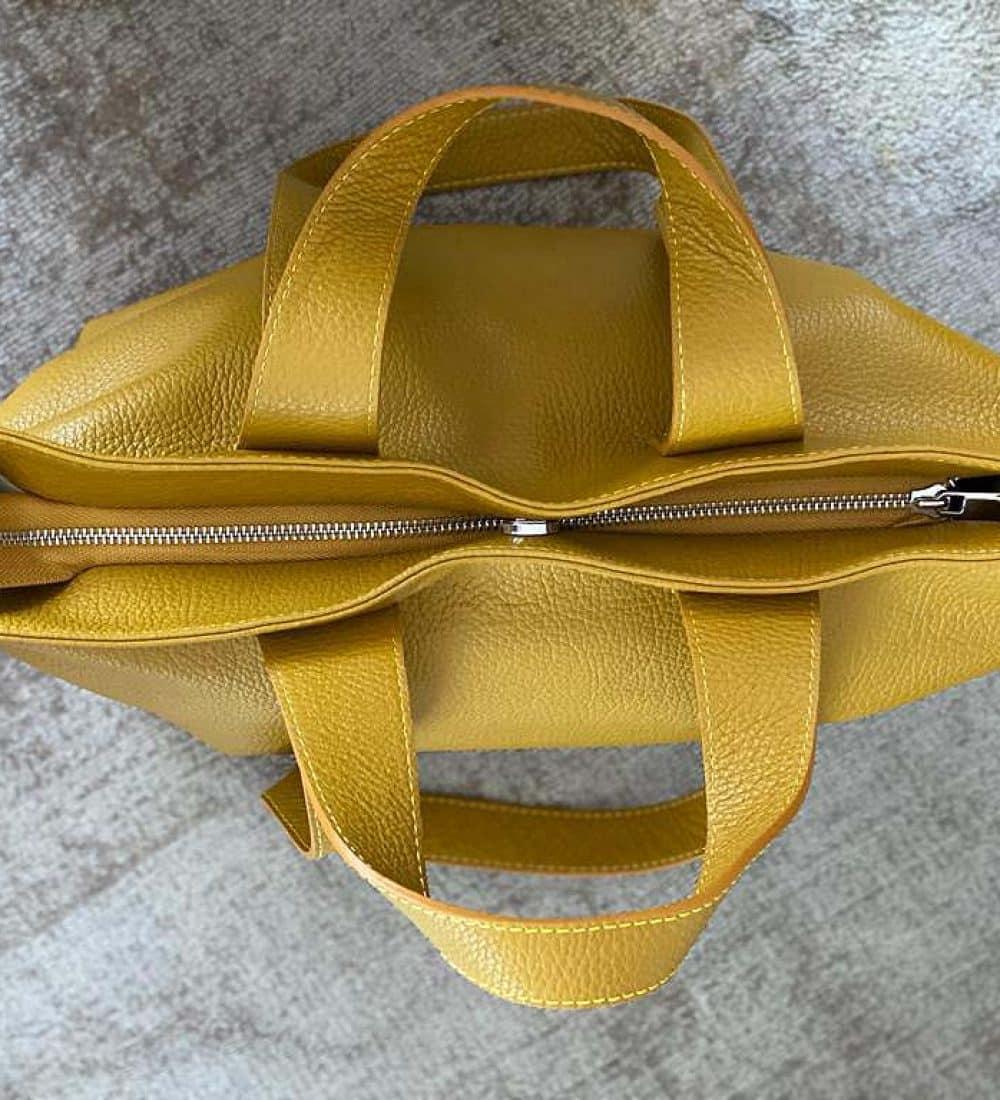 sac-cabas-cuir-graine-jaune (8)