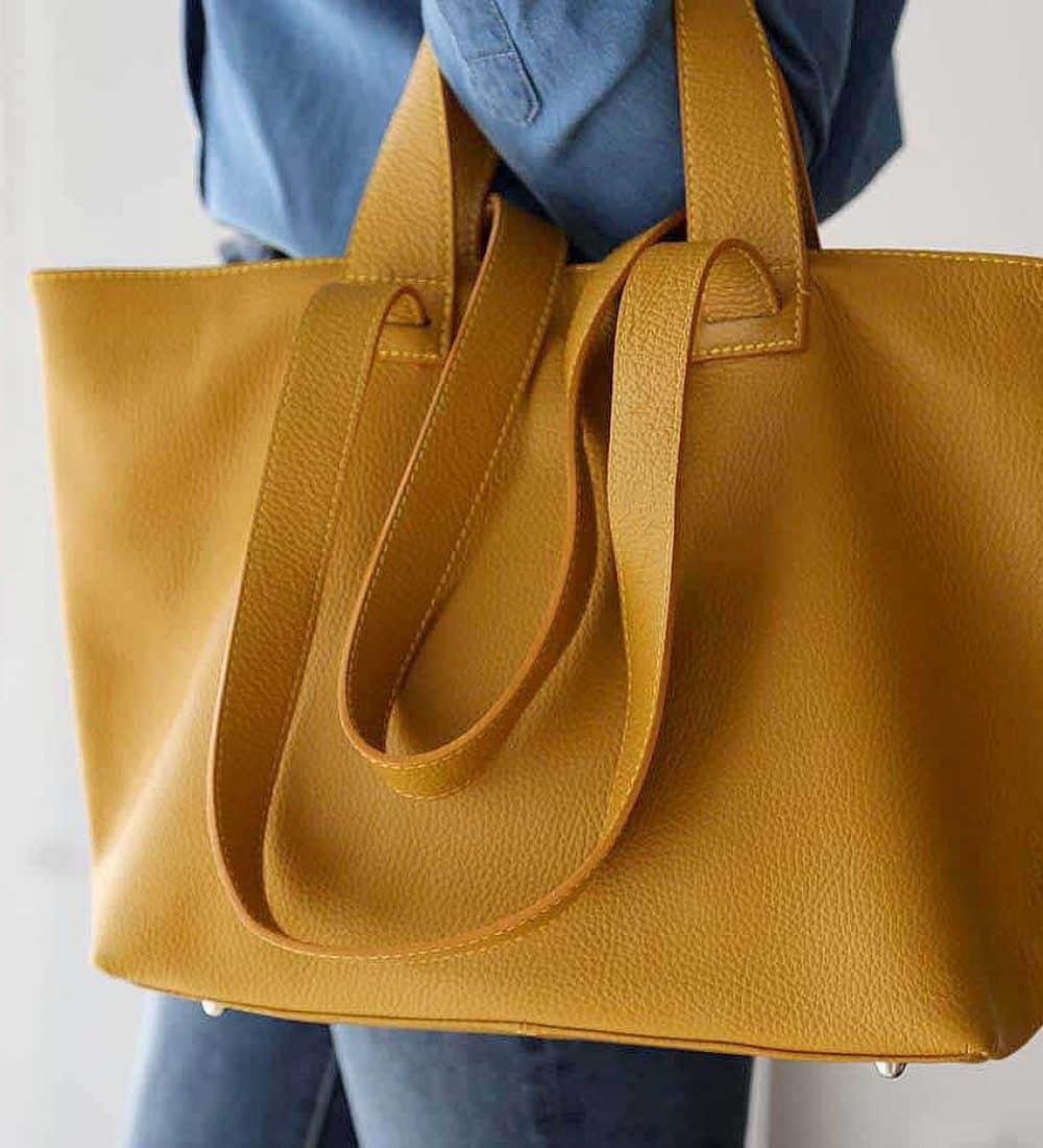 sac-cabas-cuir-jaune (3)