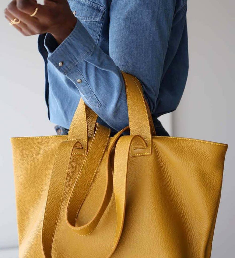 sac-cabas-cuir-jaune (5)