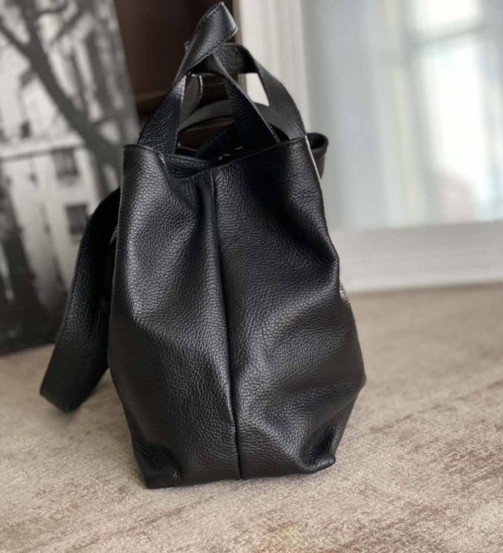 sac-cabas-cuir-noir (5)