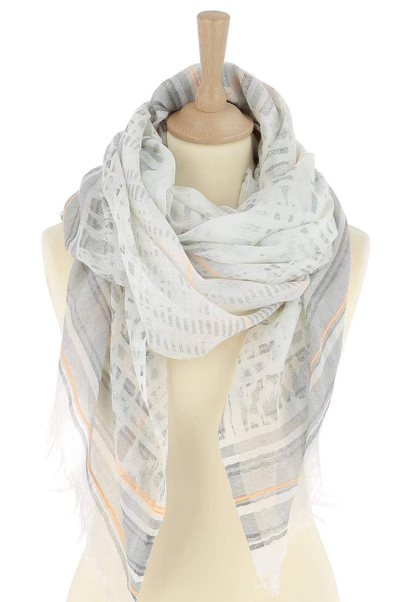 uk cheap sale quality low priced Foulard coton imprimé MATY - SAHELINE
