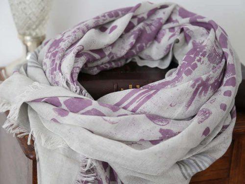 foulard-femme-violet-coton-modal-cachemire-pascaline