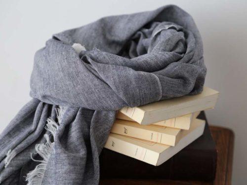 foulard-homme-coton-gris-fonce-louis