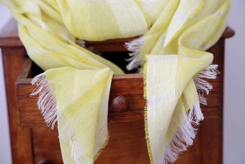 foulard-lin-jaune-eden