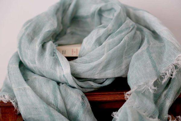 foulard-lin-vert-eau-eden-3
