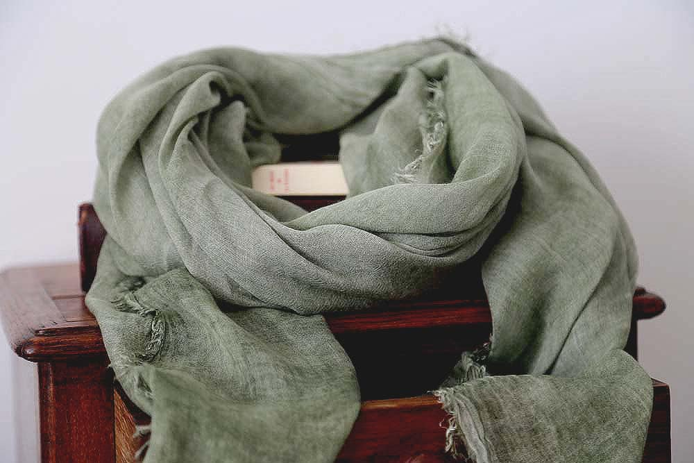 foulard homme modal vert MARCO
