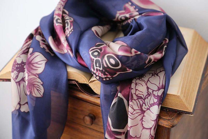 foulard-soie-imprime-elena