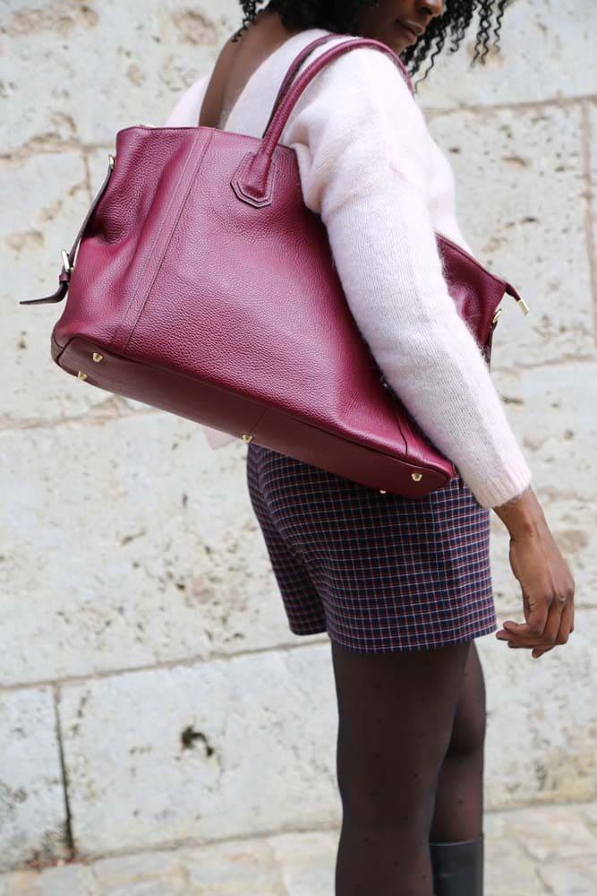 grand-sac-cabas-rose-bordeaux-cuir-saheline-andrea
