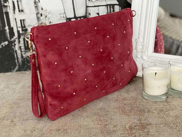 grande-pochette-sac-cuir-suédé-rouge (2)