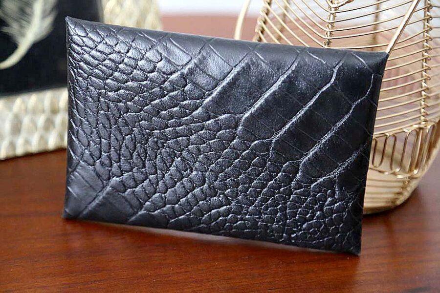porte-carte-cuir-croco-noir-lilou