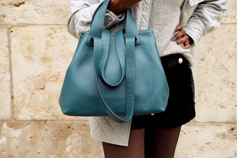 sac-cabas-cuir-bleu-canard-double-anse