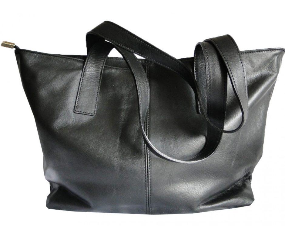 sac-cabas-cuir-noir