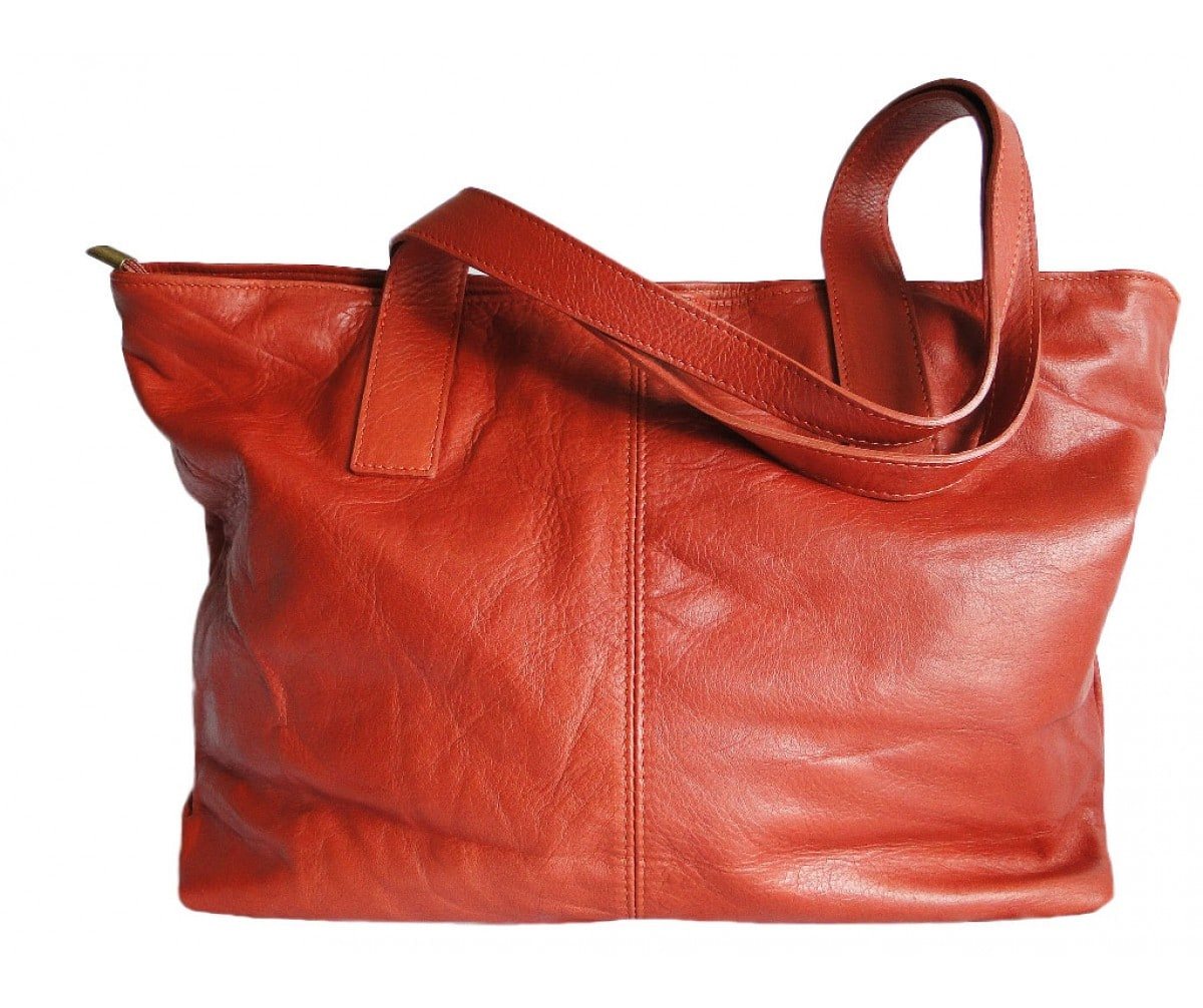 sac-cuir-cabas-orange-brique