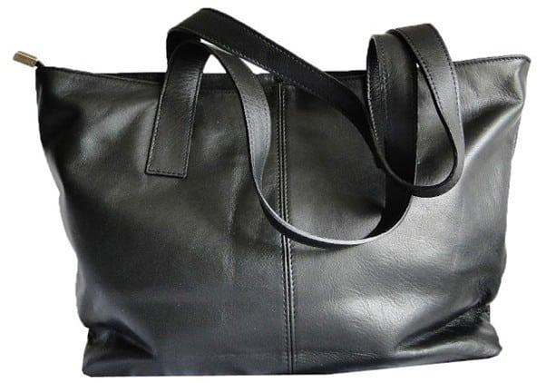 Sac cabas noir Noémie par Saheline - 129€90