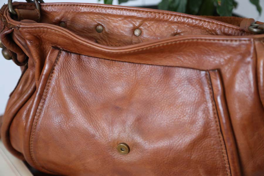 sac main cuir fabrication italienne